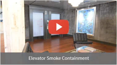 Elevator Smoke Containment