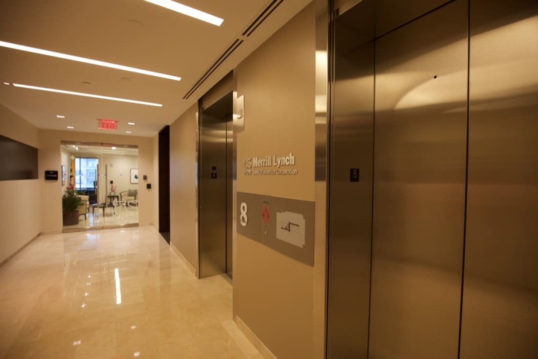 Elevator Smoke Containment Block 11 Mid Pike Plaza Us